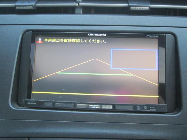 トヨタ プリウス G ソーラーパネルサンルーフ HDDナビ バックカメラ