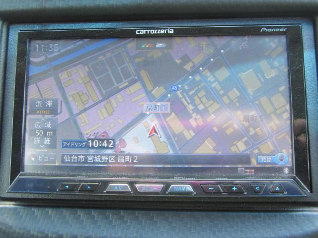 ホンダ フィットシャトルハイブリッド HVスマートS 無限エアロ 外17アルミ 外HDDナビ