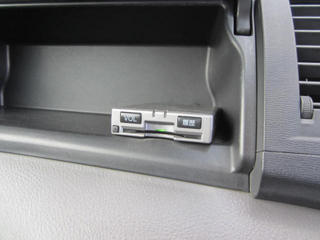 ETC車載器装備です。