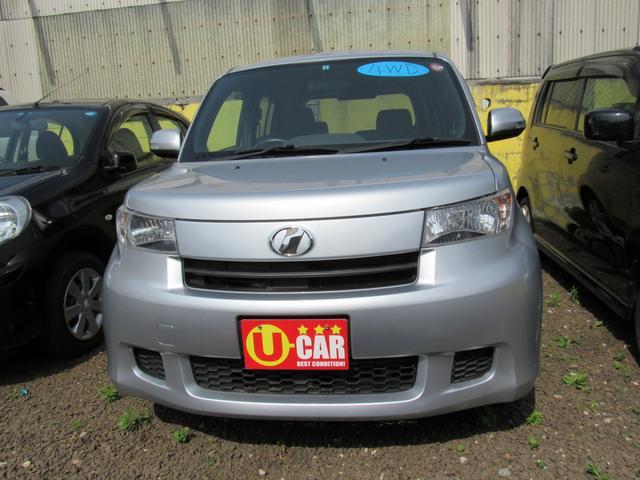 トヨタ bB S 4WD 純正CD コラムオートマ キーレスエントリー