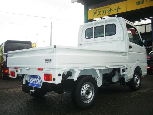 KC 4WD エアコン パワステ 3方開 5速MT(4枚目)