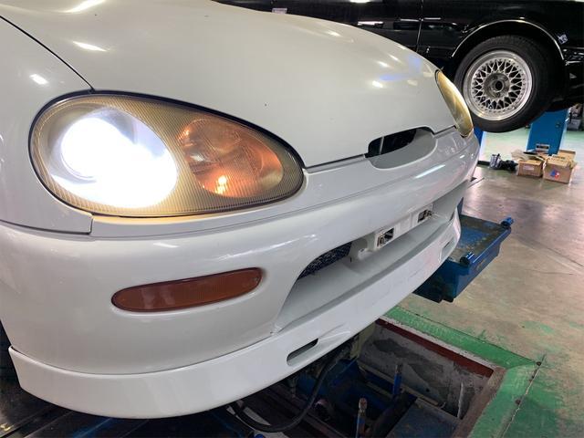 「スズキ」「カプチーノ」「オープンカー」「秋田県」の中古車39