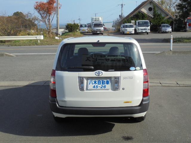 トヨタ サクシードバン U パワステ エアコン ETC AT 4WD