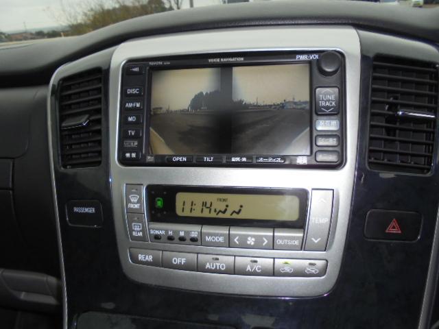 トヨタ アルファードG AS DVDナビ リアモニター ツインサンルーフ 4WD