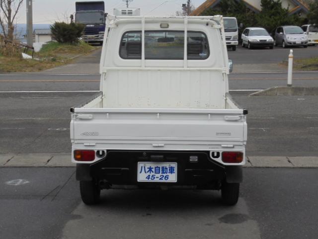 スバル サンバートラック TC パワステ エアコン ドアバイザー 荷台作業灯