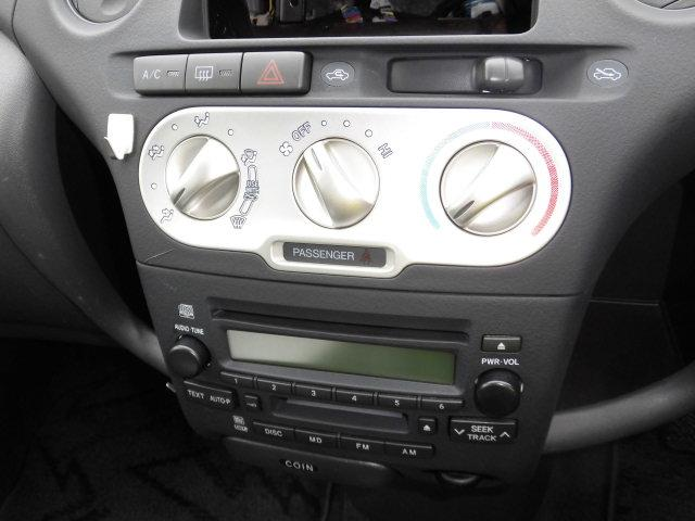 トヨタ ヴィッツ F Lパッケージ マニュアル CD MD キーレス 4WD