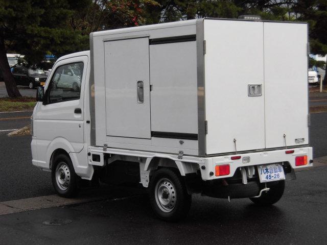 スズキ キャリイトラック 保冷車 キーレス エアコン パワステ 4WD