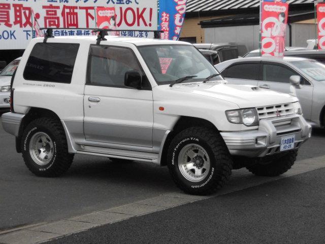 三菱 パジェロ メタルトップワイド ZR フォグランプ ETC 4WD