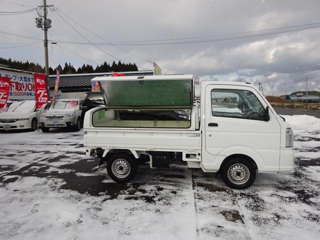 KCエアコン・パワステ トラボ保冷ボックス付き 切替式4WD(17枚目)