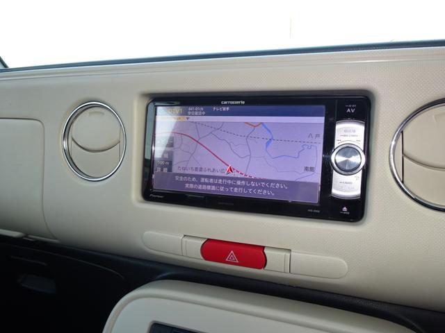 ココアプラスX スマートキー ETC 社外ナビ TV 4WD(13枚目)