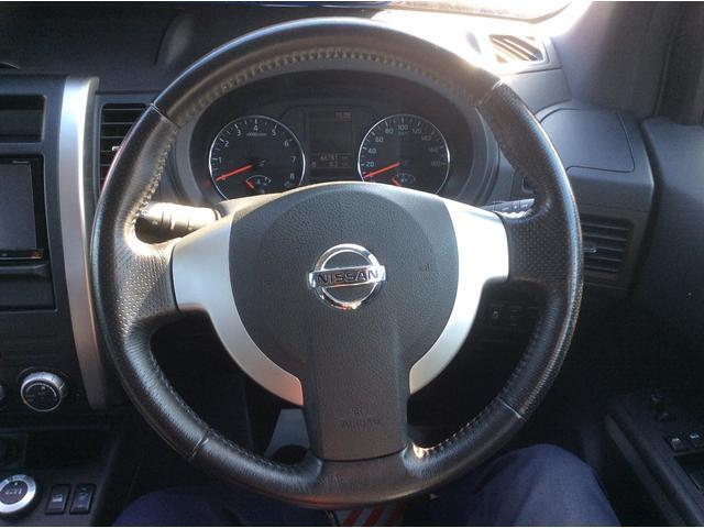 日産 エクストレイル 20Xt 4WD HDDナビ付 ハイパールーフレール