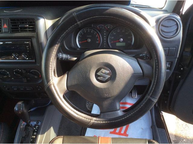 スズキ ジムニー ワイルドウインド 4WD CDチューナー