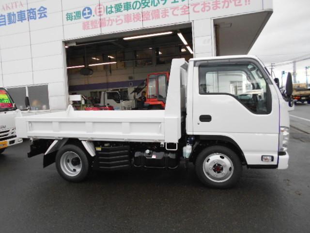 いすゞ エルフトラック 4WD ICターボ フルフラットローSG 2t強化ダンプ