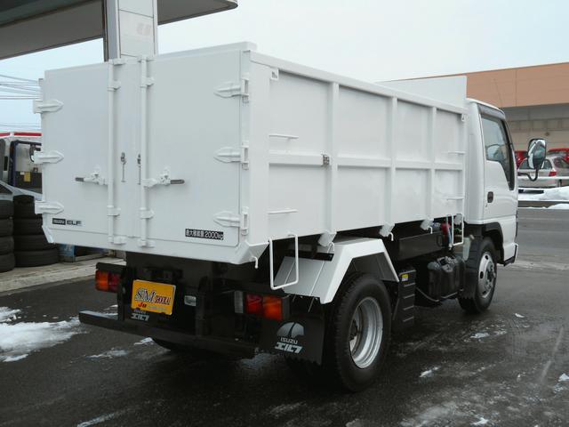 いすゞ エルフトラック 4WD 2t深ダンプ Wタイヤ