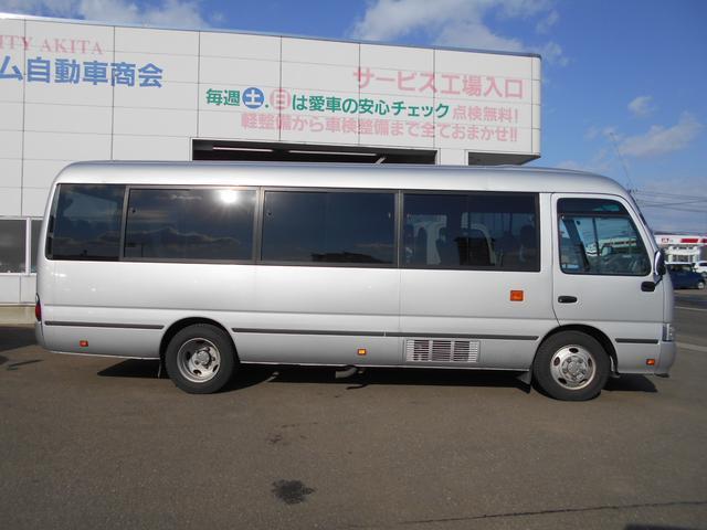 マイクロバス ICターボGX ロング29人乗 ナビBモニター(4枚目)