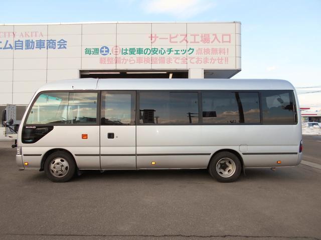マイクロバス ICターボGX ロング29人乗 ナビBモニター(5枚目)