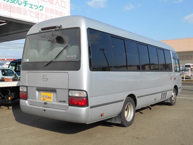 マイクロバス ICターボGX ロング29人乗 ナビBモニター(6枚目)