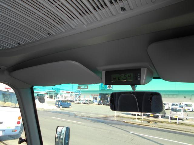 マイクロバス ICターボGX ロング29人乗 ナビBモニター(55枚目)