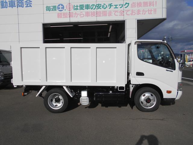 4WD ICターボ 全低床 2t強化ダンプ(4枚目)