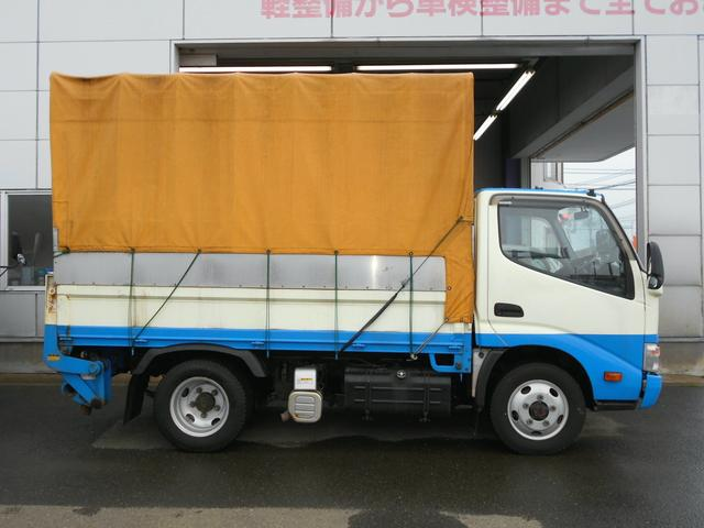4WDICターボ全低床3t 800kg型アーム式Pゲート幌付(4枚目)