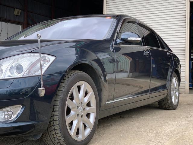 S500ロング 黒皮シート サンルーフ 純正18インチAW(14枚目)