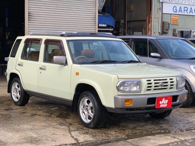 「日産」「ラシーン」「SUV・クロカン」「秋田県」の中古車4