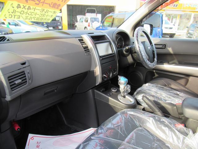 日産 エクストレイル 20St後期 4WD 純正ナビ ワンセグTV ワンオーナー車