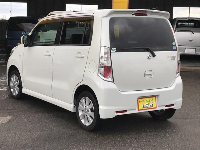 「スズキ」「ワゴンRスティングレー」「コンパクトカー」「秋田県」の中古車7