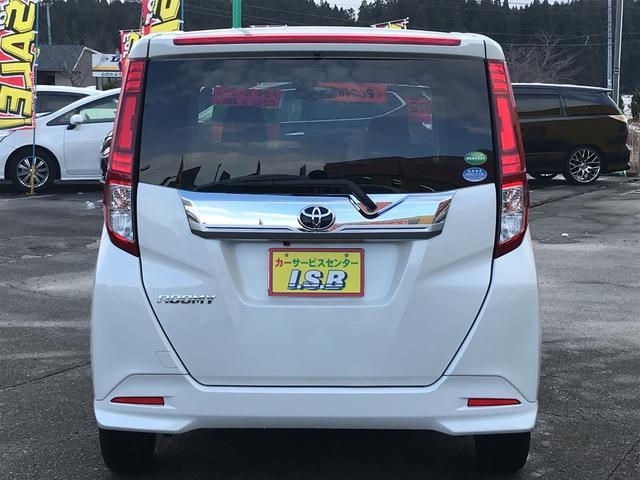 「トヨタ」「ルーミー」「ミニバン・ワンボックス」「秋田県」の中古車6