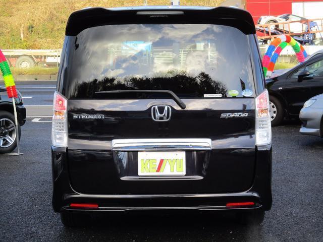ホンダ ステップワゴンスパーダ Z ワンオーナー禁煙車 両側自動ドア スタッドレスセット車載