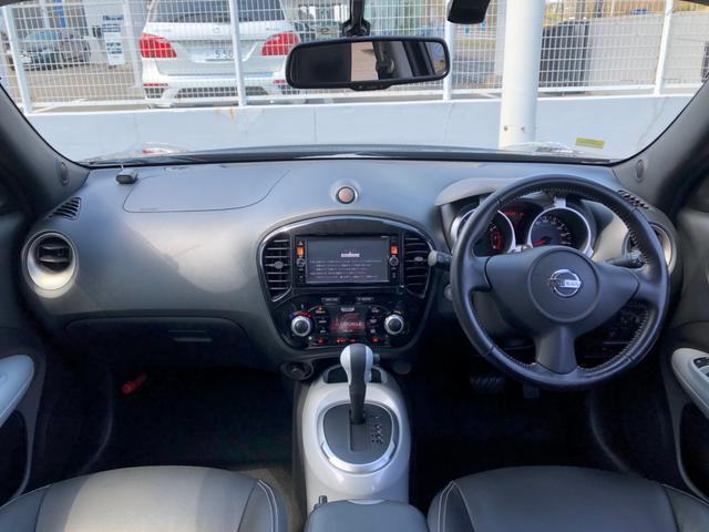 15RX パーソナライゼーション 全方位カメラ レザーシート シートヒーター SDナビ CD/DVD フルセグ ミュージックサーバー ETC USB HIDオートライト フォグ インテリキー プッシュスタート ウィンカーミラー 禁煙車(3枚目)