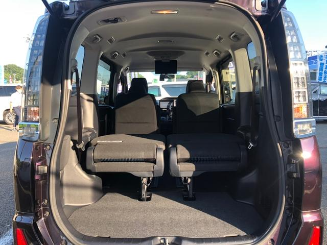ZS 禁煙車 9インチSDナビ バックカメラ フルセグ BT接続 両側自動スライドドア フリップダウンモニター 純正エアロ LEDライト アイドリングストップ MTモード リアクーラー サンシェード(28枚目)