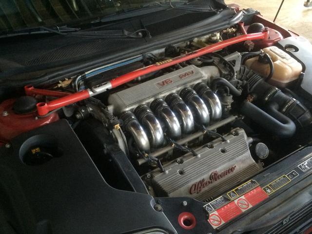 アルファロメオ アルファGTV 3.0 V6 24V左ハンドル 5MT OZアルミホイール