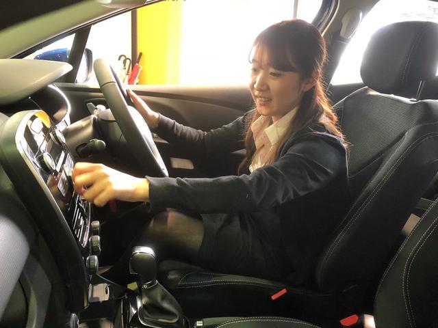 お車やオプションの説明などお客様に分かりやすくお伝えいたします。