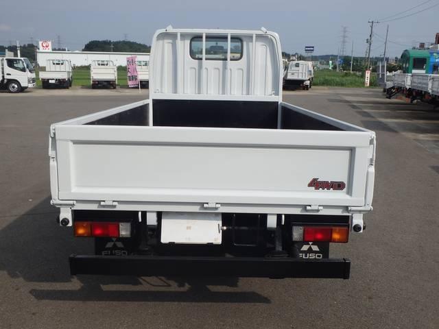 三菱ふそう キャンターガッツ ロング全低床 4WD