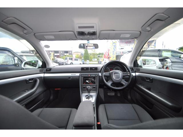 アウディ アウディ A4アバント 2.0TFSIクワトロ 4WD 新品タイヤ 前席パワーシート