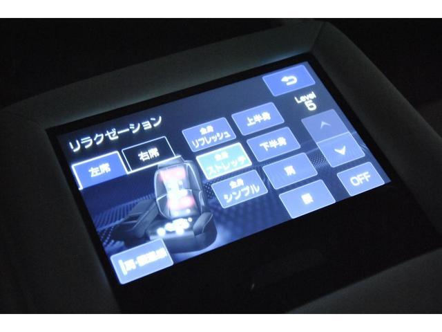 エアサスコントローラー本体はトランクのCPUに接続してあり、車高調整操作は車内の純正のハイトコントロールスイッチにて操作します。車内はノーマルと全く変わらないので、ディーラーへの入庫も気になりません♪