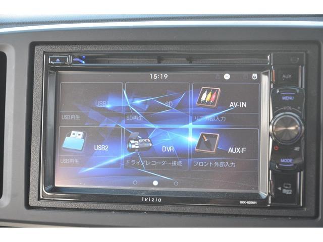 G SSパッケージ 4WD CTBA シティブレーキアクティブシステム 衝突被害軽減装置 運転席&助手席シートヒーター スマートキー PUSHスタート DVD再生ディスプレイオーディオ バックカメラ HIDヘッドライト(13枚目)
