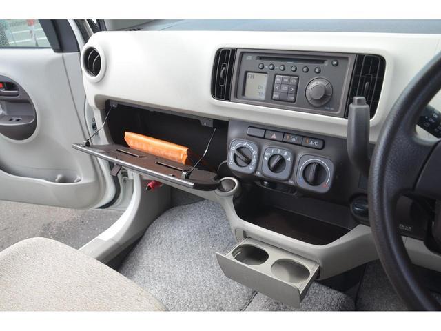 X 2WD キーレス エアコン パワステ オートマ 電動格納ドアミラー アルミホイール キーレスキー 2エアバッグ CDチューナー 電動格納ミラー AC ABS 衝突安全ボディ エアバッグ 記録簿有り(12枚目)