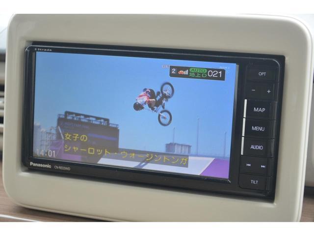 X 4WD スズキセーフティサポート 衝突被害軽減装置 パナソニックSDナビ  フルセグ地デジテレビ 1オーナー 運転席&助手席シートヒーター AUTOライト HIDライト PUSHスタート スマートキー(30枚目)