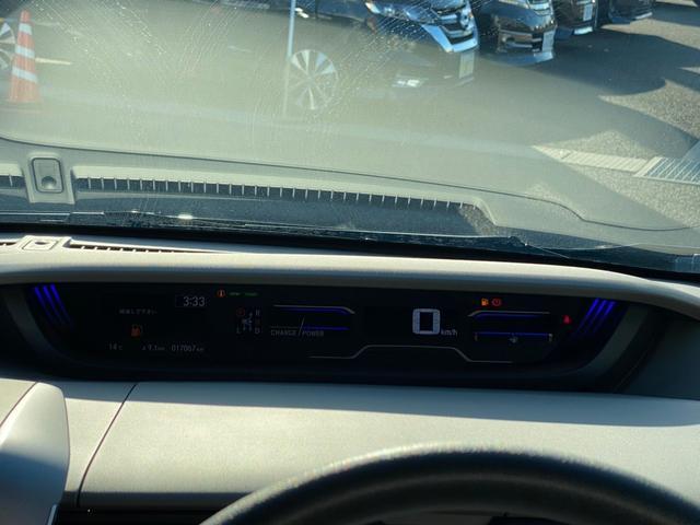 ハイブリッド・Gホンダセンシング 4WD 新品SDナビ取付 フルセグTV Bluetooth接続 バックカメラ ETC 両側電動ドア 追従クルーズ 衝突軽減 横滑り防止 スマーキー LEDライト 盗難防止 モデューロアルミ 禁煙車(39枚目)
