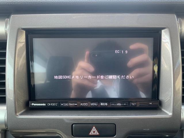 Xターボ SDナビ CD・DVD再生 フルセグTV レーダーブレーキ 横滑り防止 ビルトインETC スマートキー アイドリングストップ シートヒーター HIDライト 盗難防止 プッシュスタート 禁煙車(25枚目)