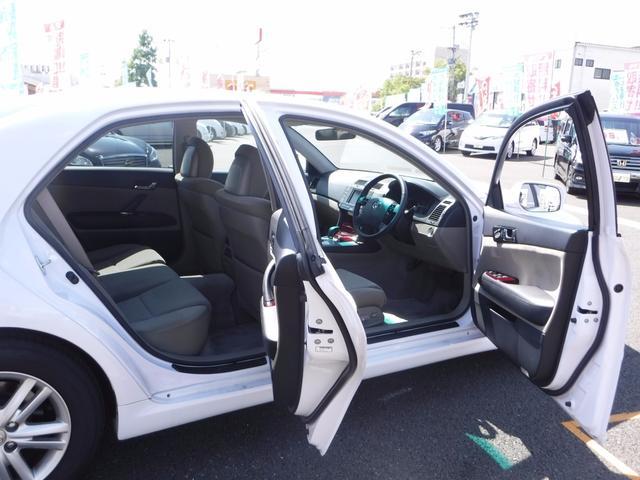 トヨタ マークX 250G 後期型 1オーナー メーカーHDDナビ 1オーナー
