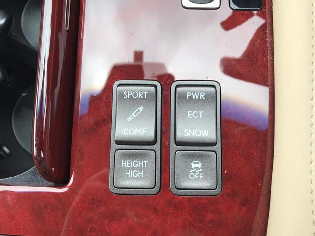 LS460バージョンU 純正8型ナビ 本革レザー サンルーフ(23枚目)
