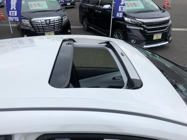 A 【愛知県仕入】 サンルーフ 禁煙車 純正9型SDナビ フルセグ+バックカメラ+Bluetooth トヨタセーフティ&コーナーセンサ&BSM ヘッドアップディスプレイ LEDライト ミラーヒーター(51枚目)