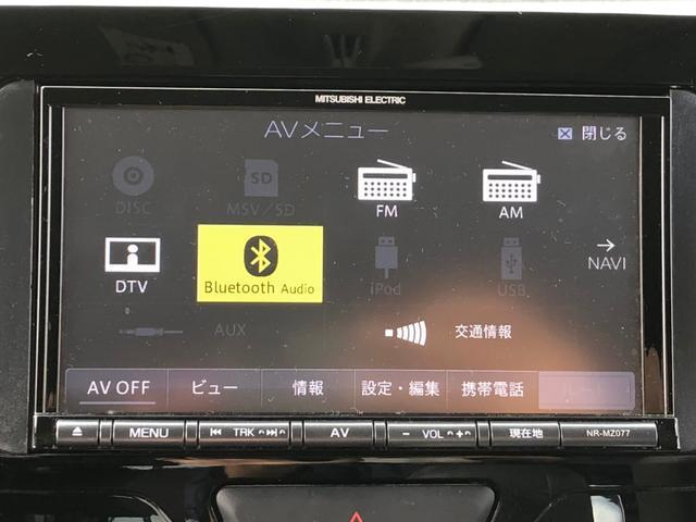カスタムX 【当店下取車】 社外メモリーナビ フルセグTV CD・DVD再生 Bluetooth接続 電動スライドドア ETC プッシュスタート LEDヘッドライト フォグ オートライト 社外14インチアルミ(25枚目)