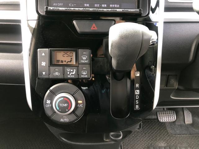 カスタムX 【当店下取車】 社外メモリーナビ フルセグTV CD・DVD再生 Bluetooth接続 電動スライドドア ETC プッシュスタート LEDヘッドライト フォグ オートライト 社外14インチアルミ(32枚目)