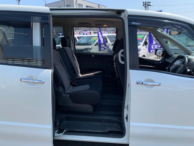ライダー 4WD ワンオーナー 禁煙車 7インチSDナビ フルセグ BT接続 ミュージックサーバー バックカメラ ETC アイドリングストップ クルーズコントロール 両側自動ドア HIDライト フォグライト(13枚目)