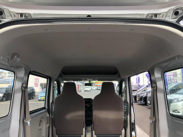 PA 禁煙 ワンオーナー 切替4WD ハイルーフ ヘッドライトレベライザー Wエアバック ABS 両側スライドドア 純正オーディオ(35枚目)