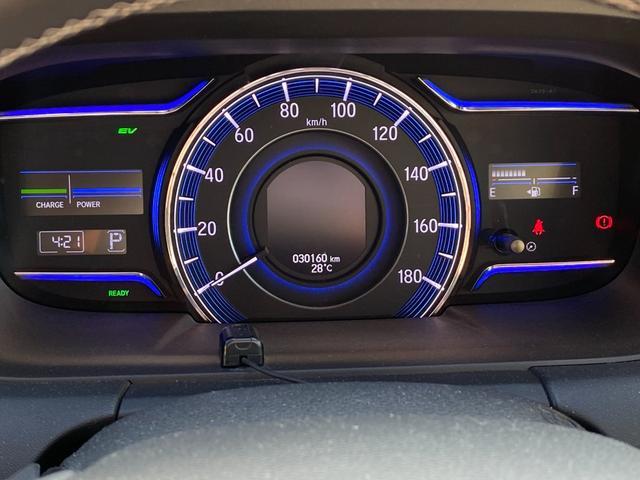 ハイブリッドアブソルート・ホンダセンシングEXパック 禁煙車 純正SDナビ フリップダウンモニター フルセグTV CD・DVD再生 バックカメラ ETC 衝突軽減システム 追従クルコン 電動シート ハーフレザーシート 両側電動ドア LEDヘッドライト(38枚目)